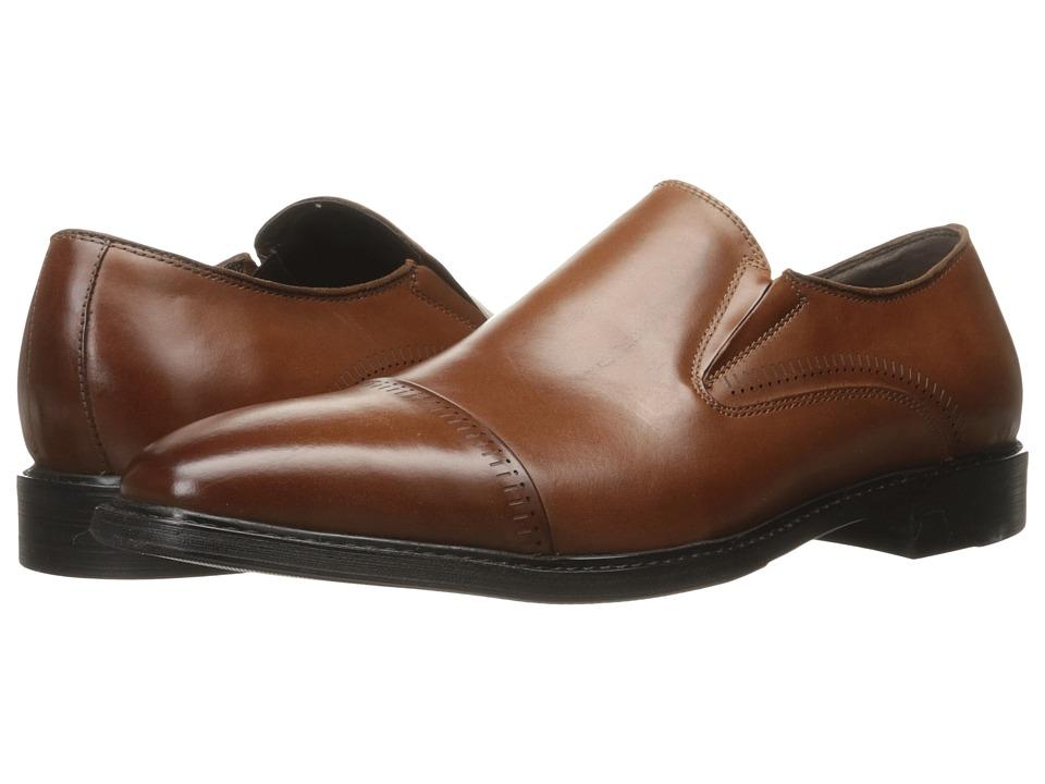 Kenneth Cole Reaction - Rest-Ing Case (Cognac) Men's Slip on Shoes