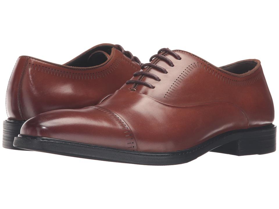 Kenneth Cole Reaction - Rest-Less (Cognac) Men's Lace up casual Shoes