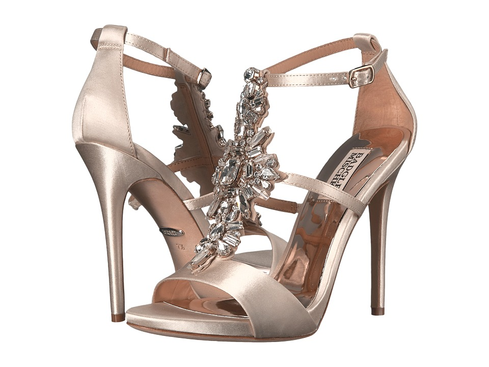 Badgley Mischka - Basile (Ivory Satin) High Heels