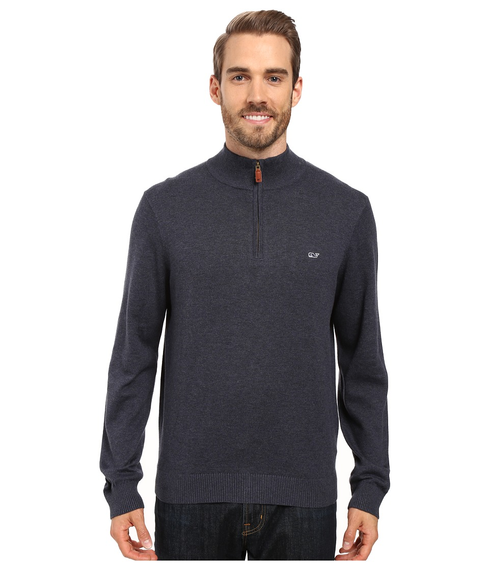Vineyard Vines - Cotton 1/4 Zip (Hyannis) Men's Clothing