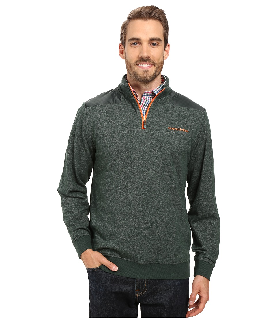 Vineyard Vines - Performance Heathered Shep Shirt (Charleston Green) Men's Clothing