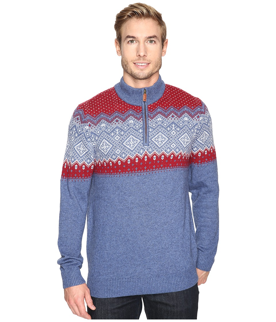 Vineyard Vines - Holiday Fair isle Sweater (Moonshine) Men's Sweater