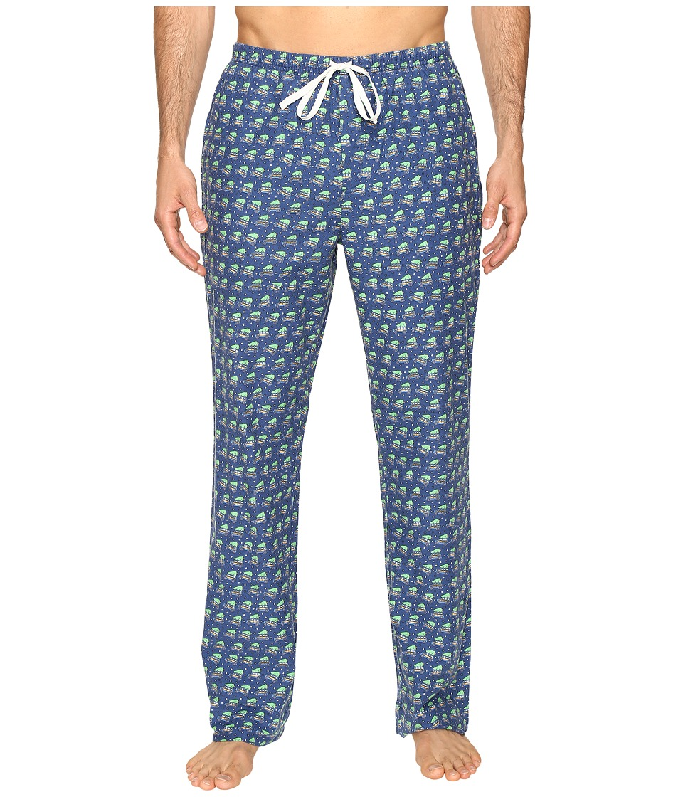 Vineyard Vines - Woody and Tree Lounge Pants (Moonshine) Men's Pajama