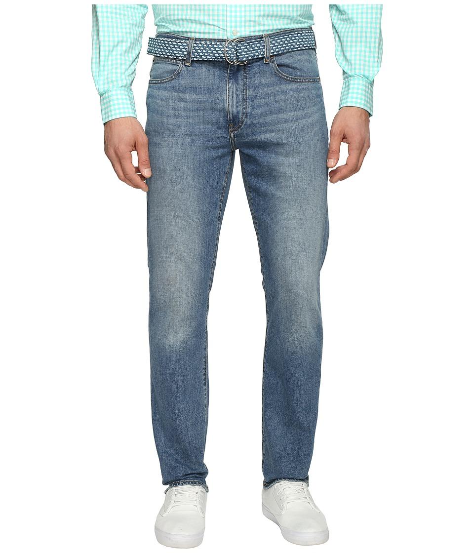 Vineyard Vines - Norton Point Wash Stretch Denim in Flag Blue (Flag Blue) Men's Jeans