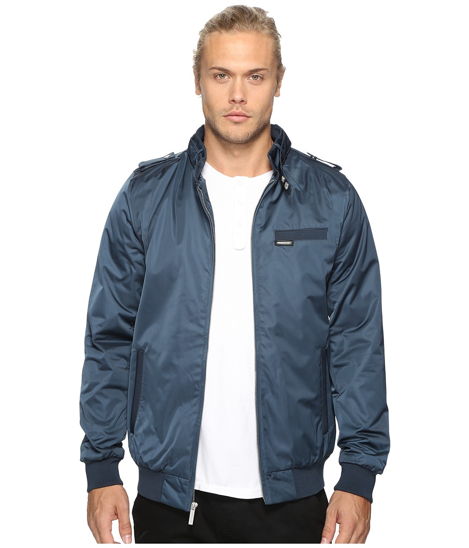 Members Only - Modern Iconic Racer Jacket (Blue) Men's Coat