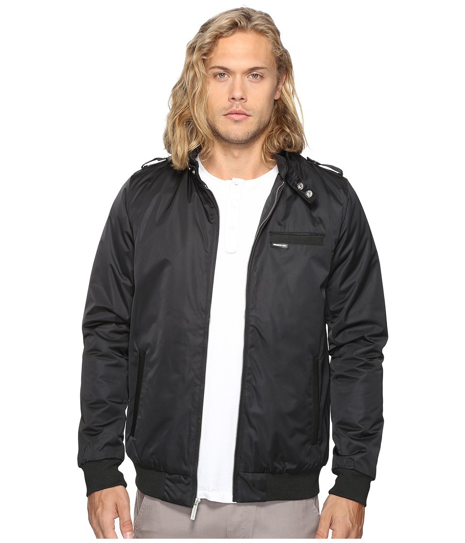 Members Only - Modern Iconic Racer Jacket (Black) Men's Coat