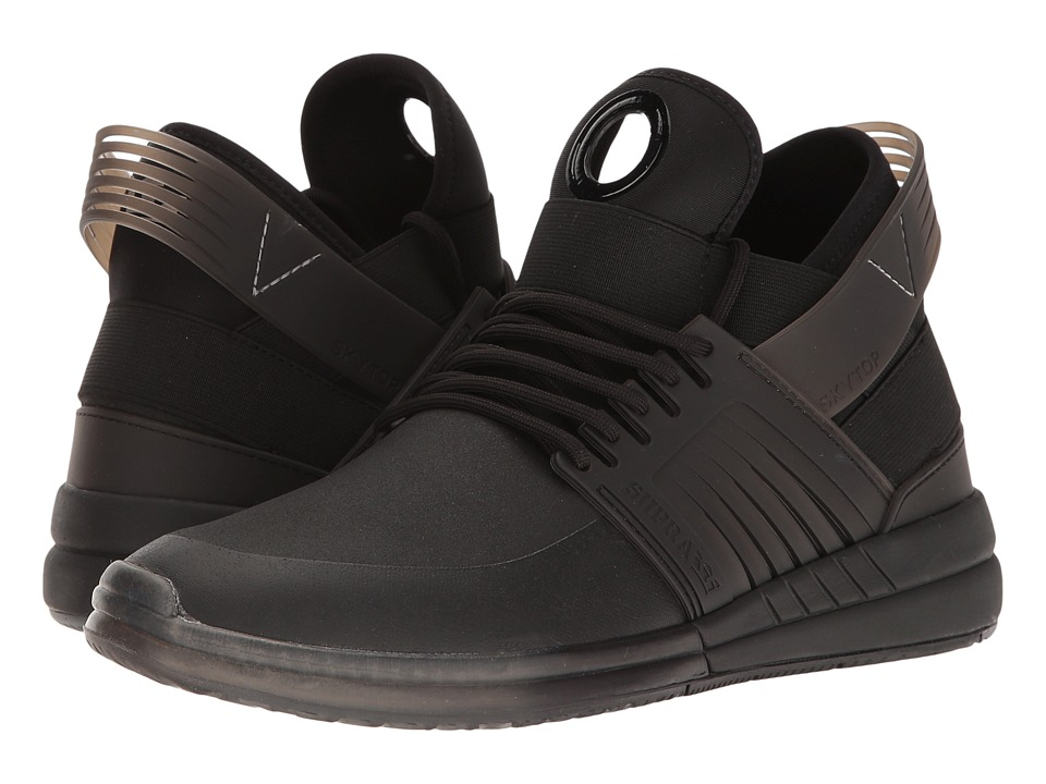 Supra - Skytop V (Black) Men's Skate Shoes