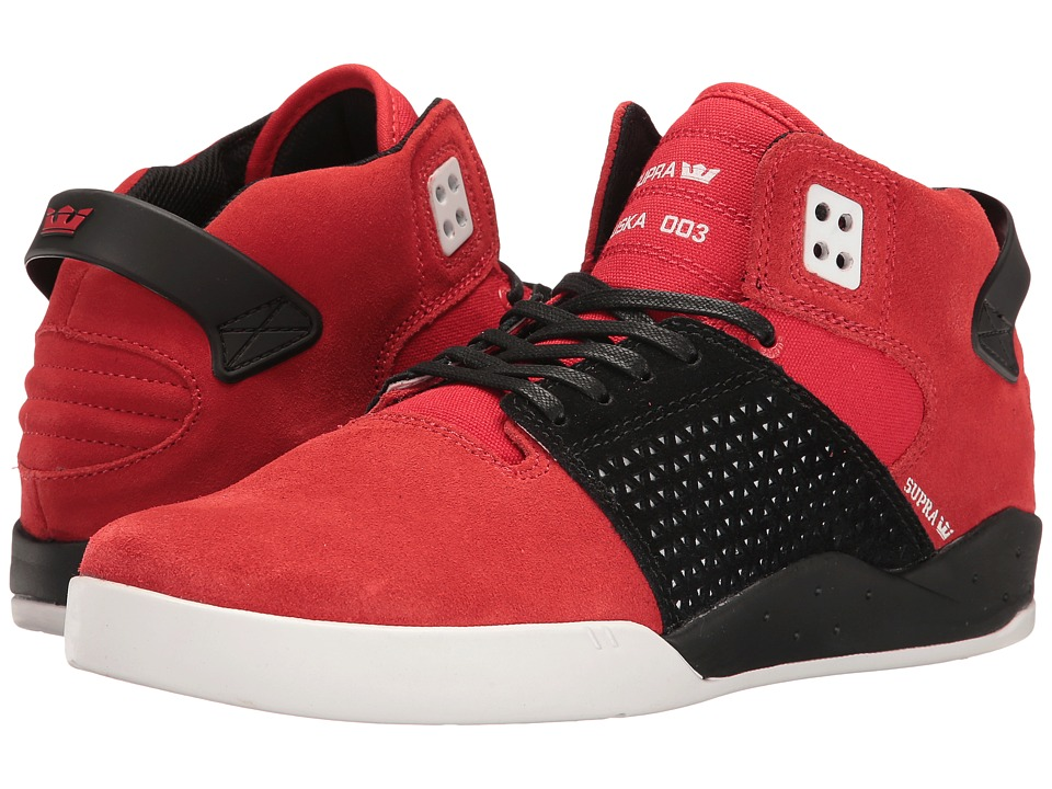 Supra - Skytop III (Red/White) Men's Skate Shoes