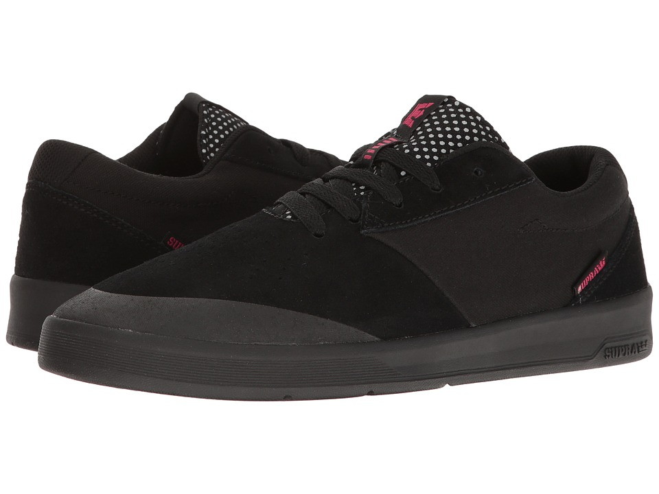 Supra - Shifter (Lucien Clarke/Black) Men's Skate Shoes