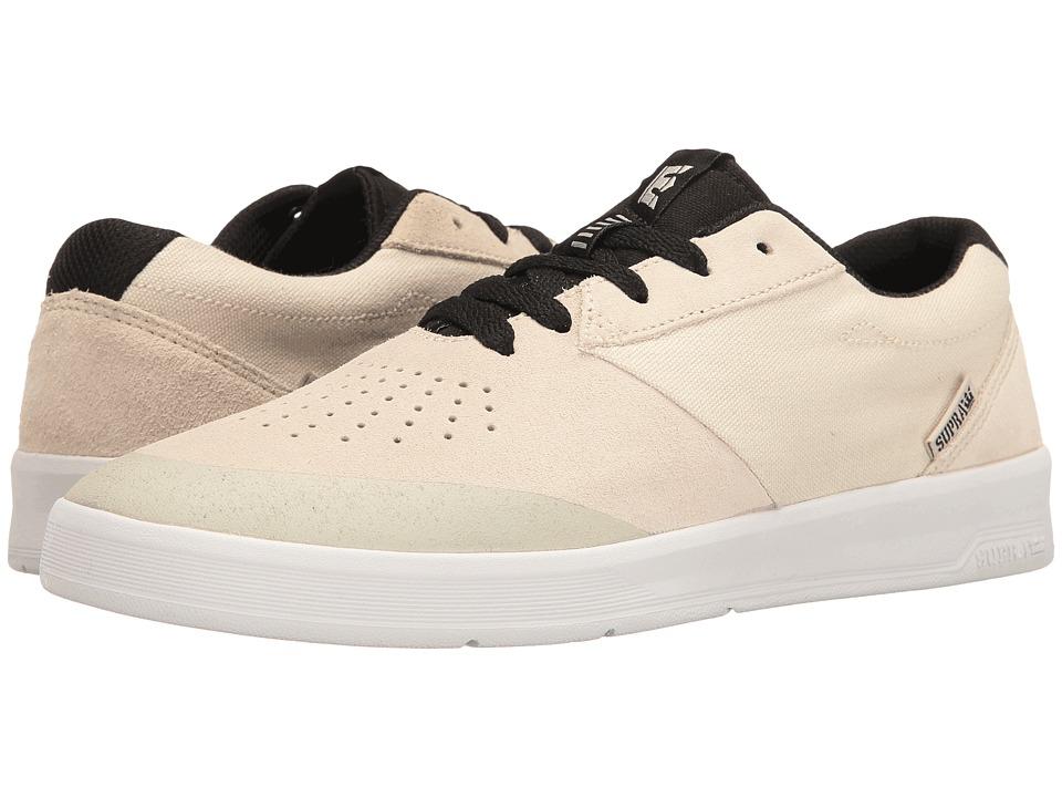 Supra - Shifter (Dane Vaughn/Off-White/White) Men's Skate Shoes