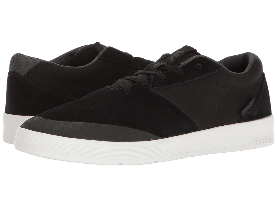 Supra - Shifter (Black/White) Men's Skate Shoes