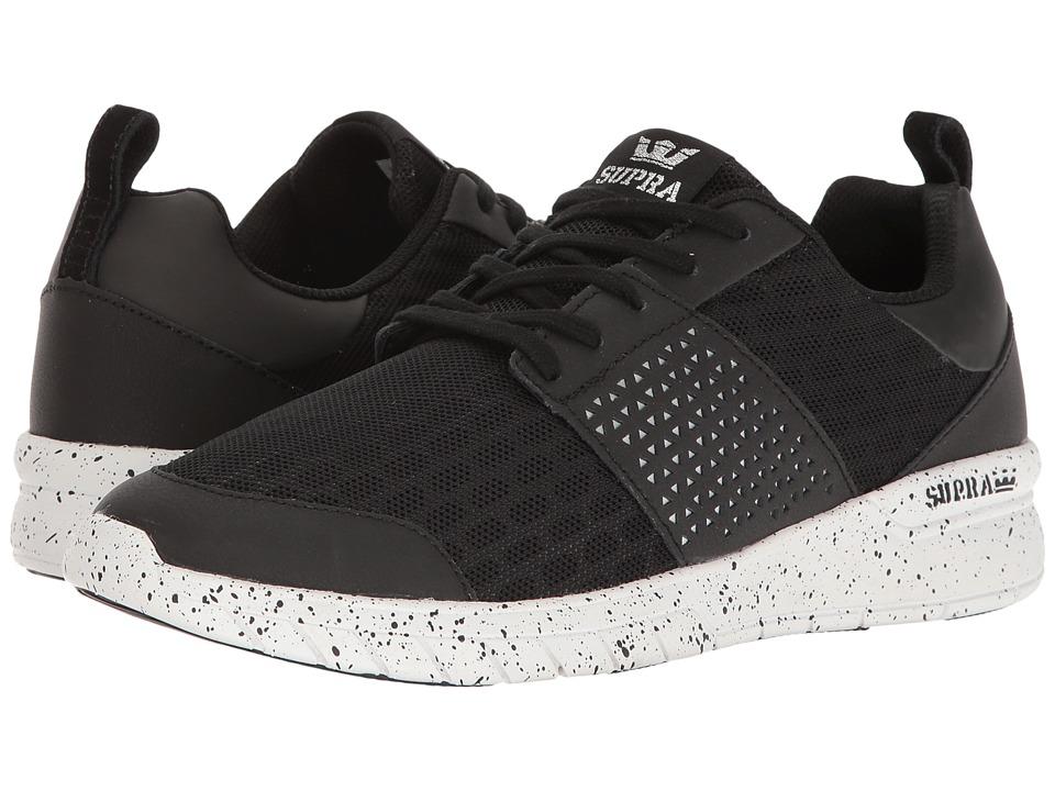 Supra - Scissor (Black/White Speckle) Men's Skate Shoes