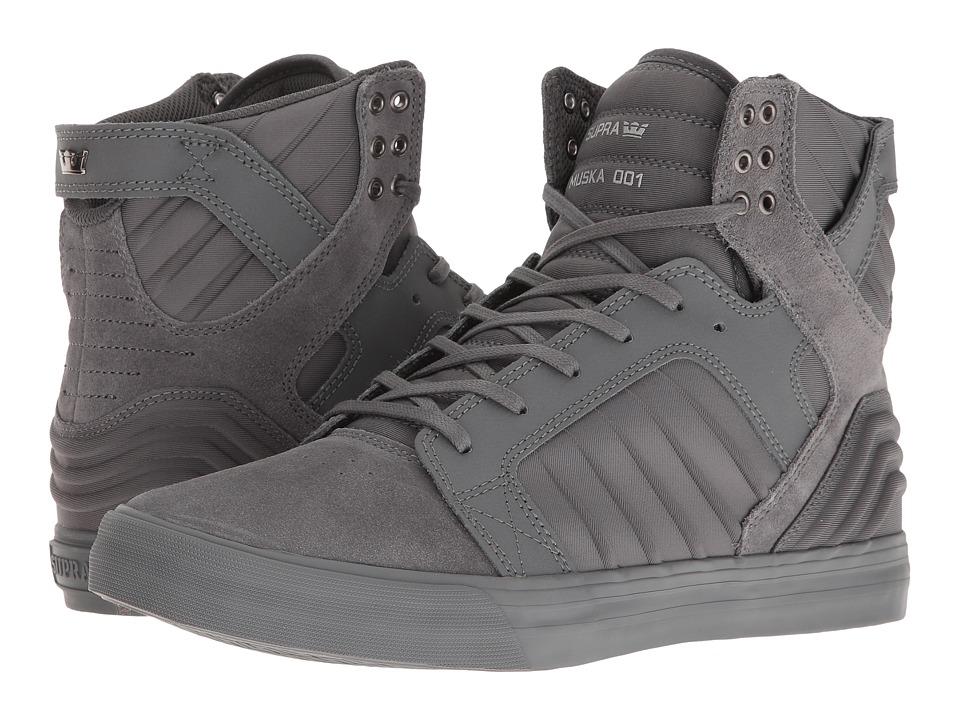 Supra - Skytop Evo (Grey/Grey) Men's Skate Shoes