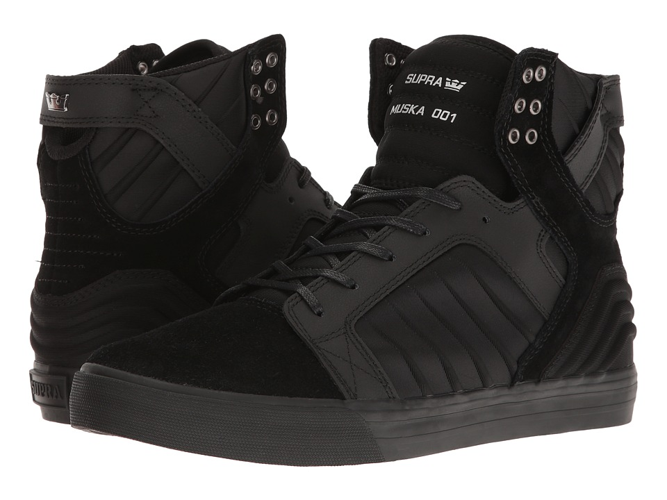 Supra - Skytop Evo (Black/Black) Men's Skate Shoes
