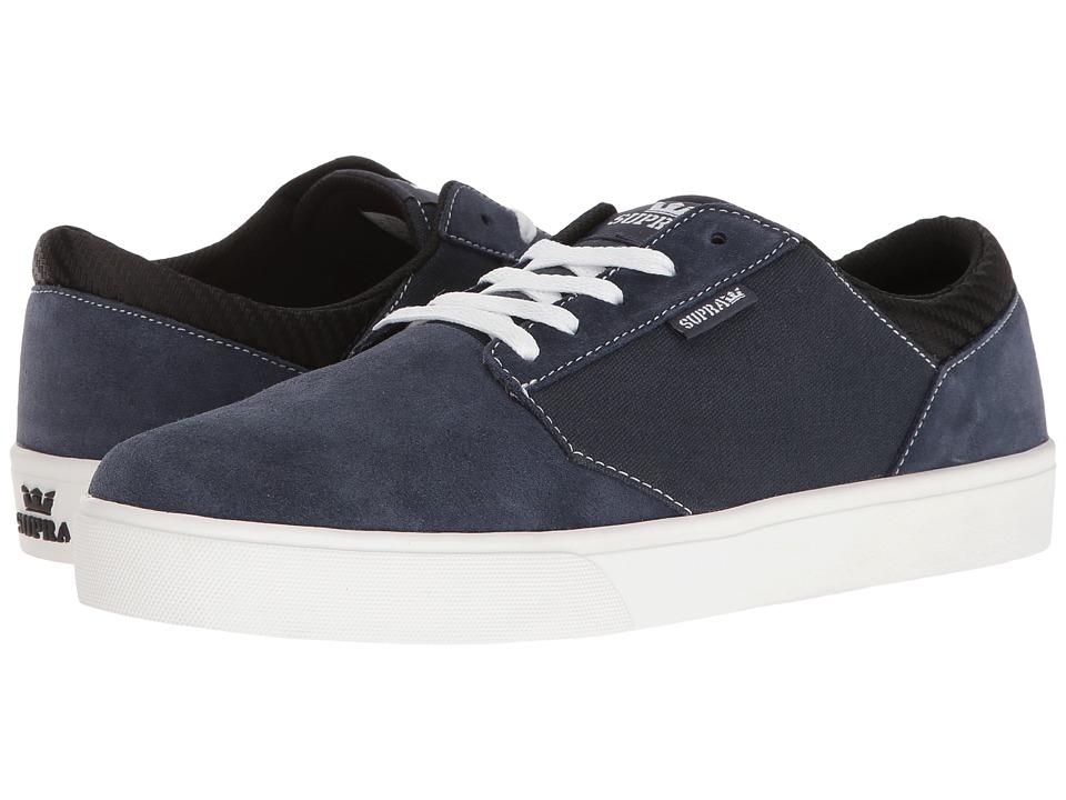 Supra - Yorek Low (Navy/White) Men's Skate Shoes
