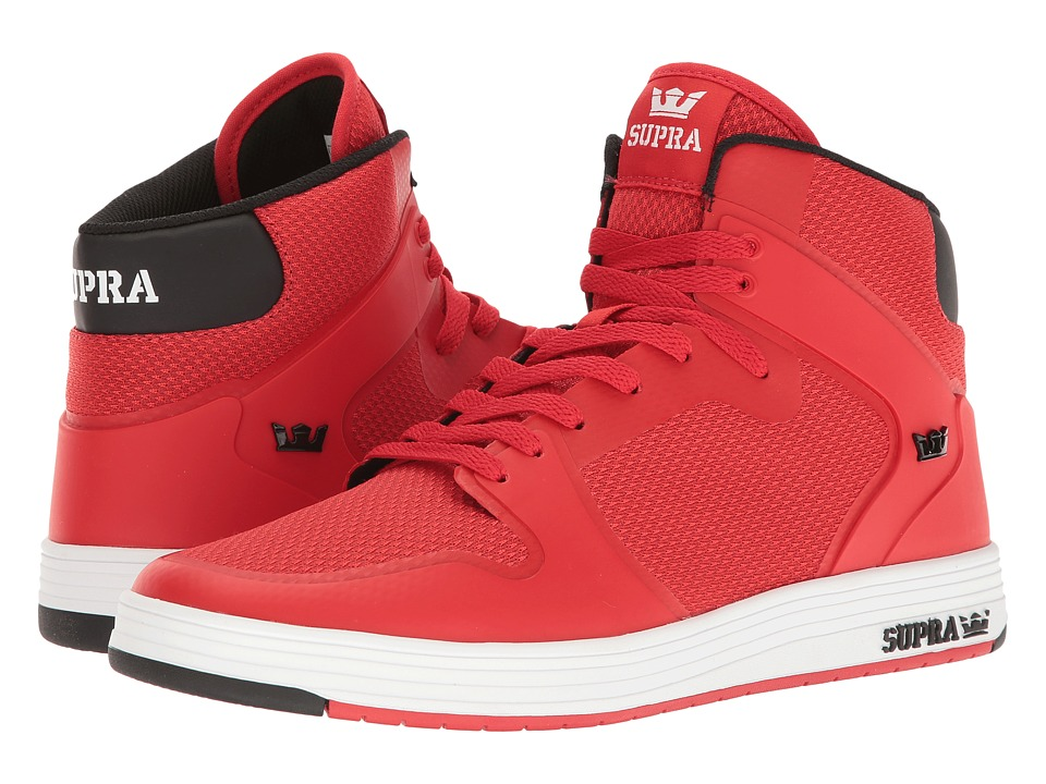 Supra - Vaider 2.0 (Red/White) Men's Skate Shoes