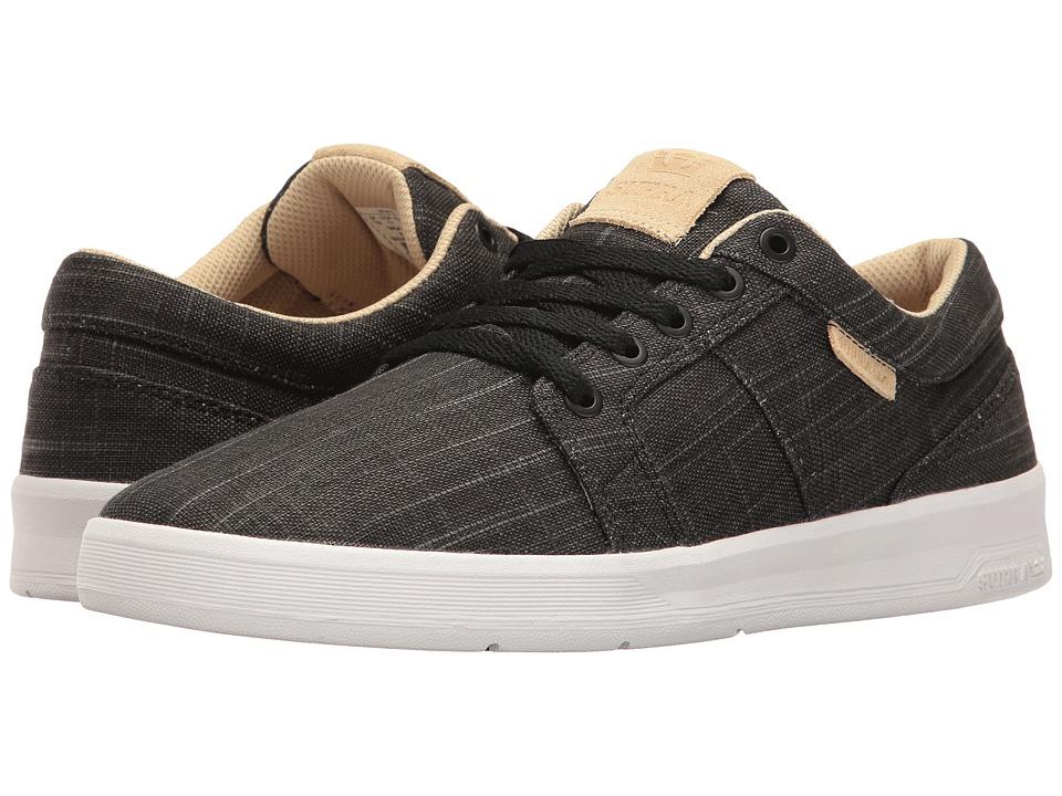 Supra - Ineto (Black/White) Men's Skate Shoes