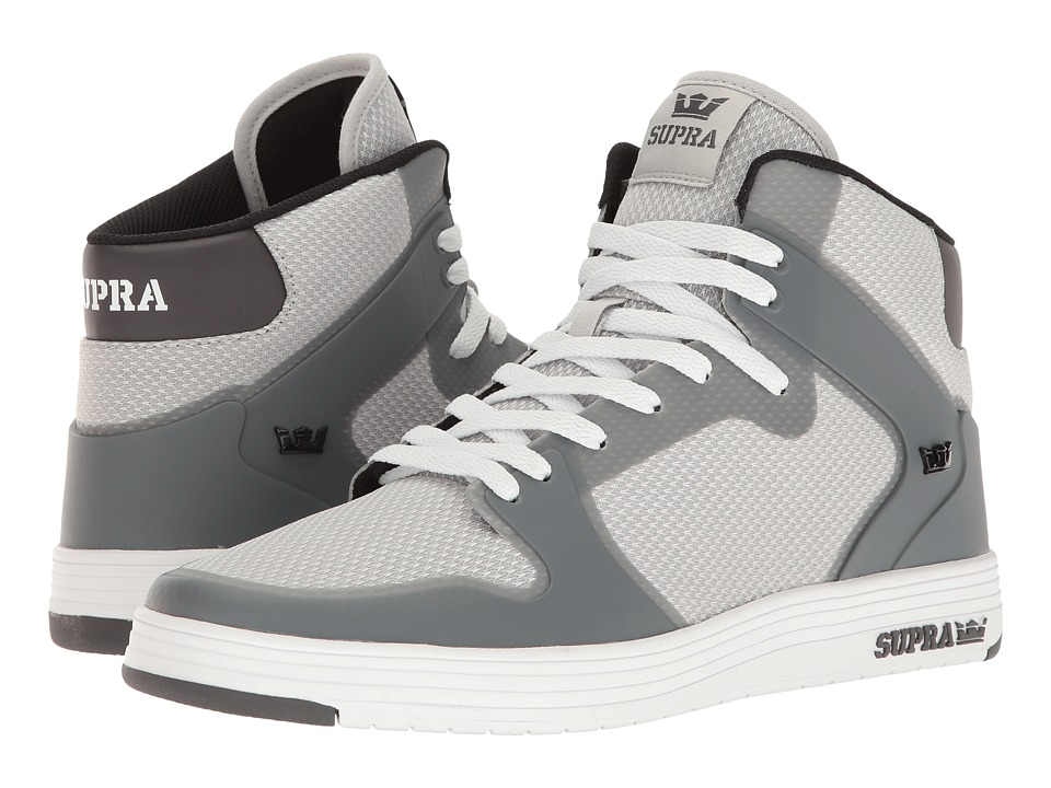 Supra - Vaider 2.0 (Grey/White) Men's Skate Shoes