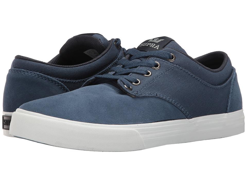 Supra - Chino (Blue/White) Men's Skate Shoes