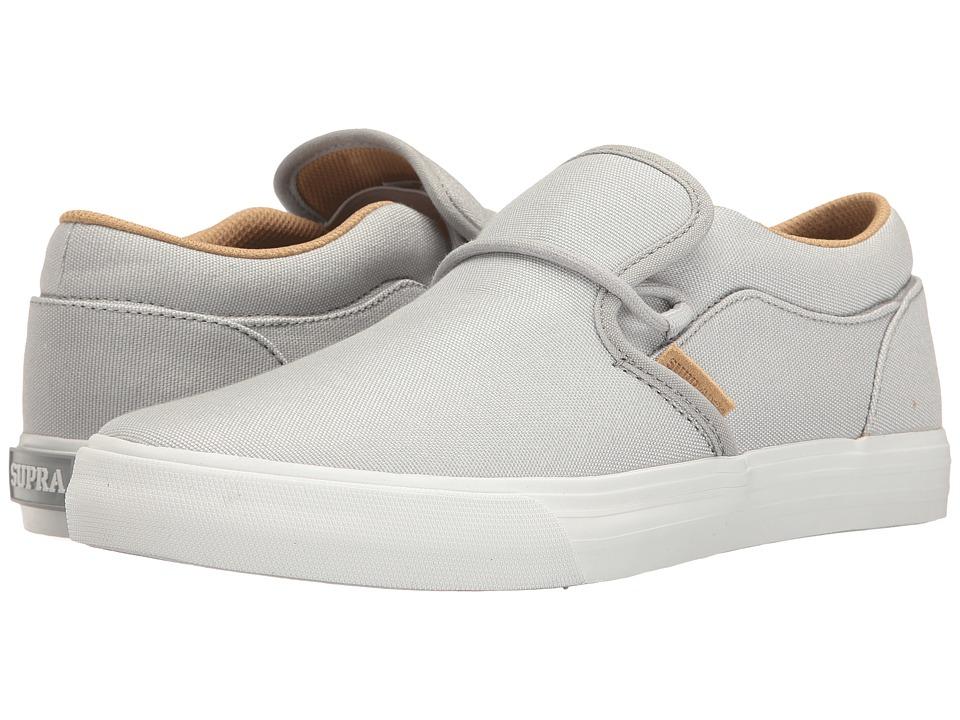 Supra - Cuba (Light Grey/White) Men's Skate Shoes