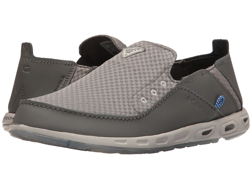 Columbia - Bahamatm Vent Marlin PFG (Light Grey/Vivid Blue) Men's Shoes