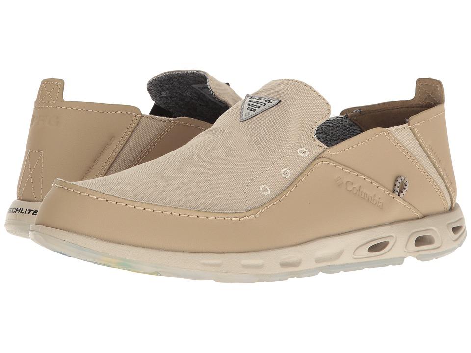 Columbia - Bahama Vent - PFG Print (Fossil/Collegiate Navy) Men's Shoes
