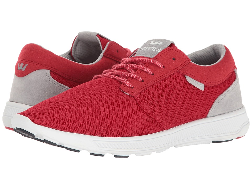 Supra - Hammer Run (Red/White) Men's Skate Shoes