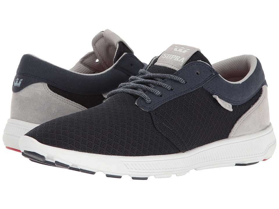 Supra - Hammer Run (Navy/Grey/White) Men's Skate Shoes