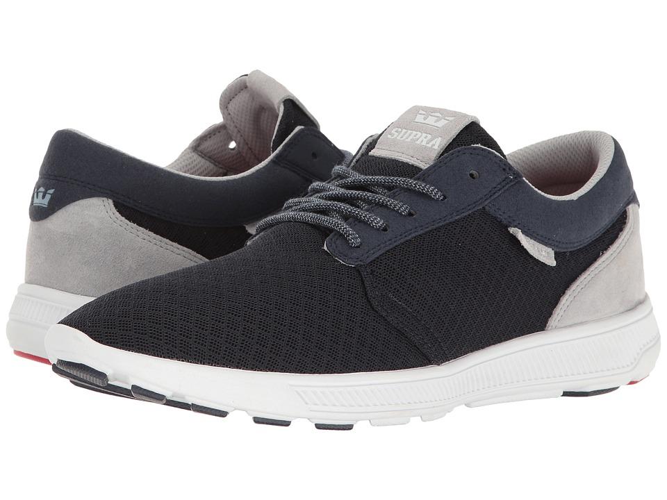 Supra - Hammer Run (Navy/Grey/White) Men's Skate Shoes