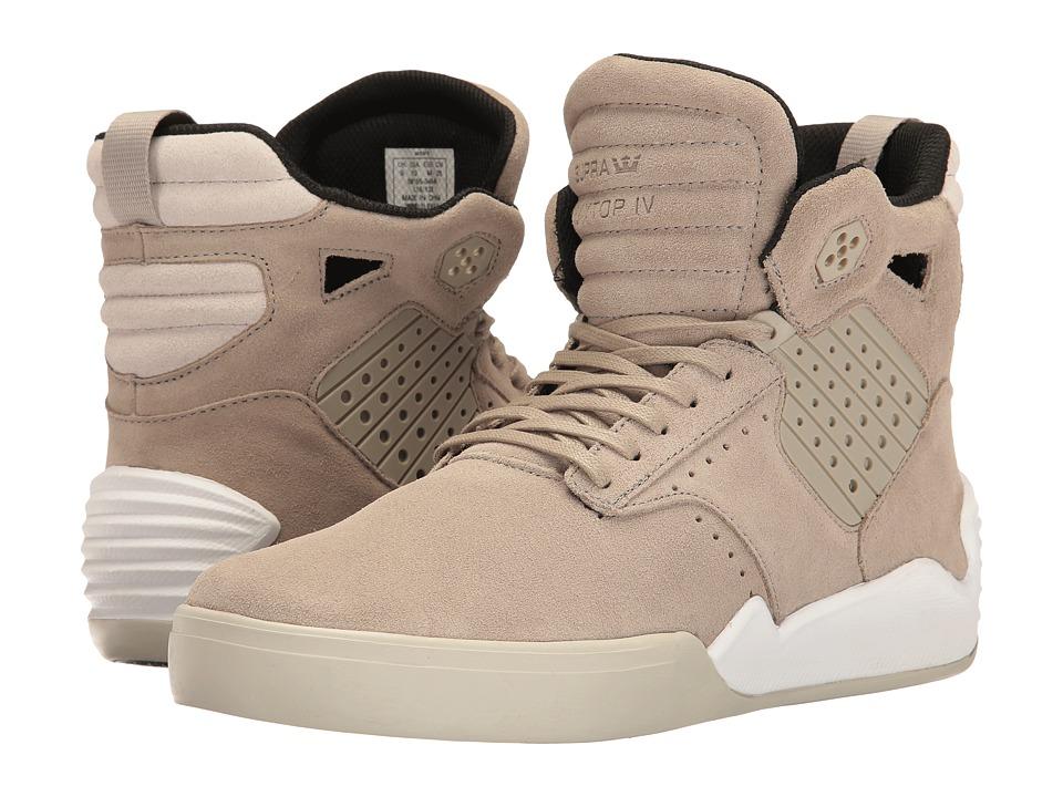 Supra - Skytop IV (Olive/Khaki/White) Men's Skate Shoes