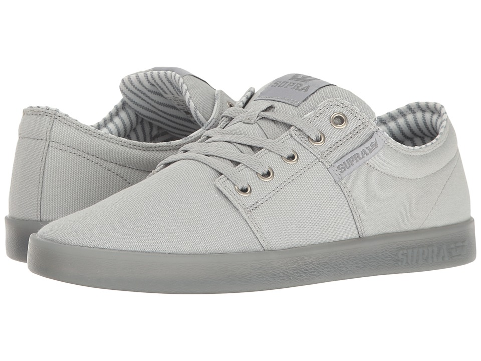 Supra - Stacks II (Light Grey/Ice) Men's Skate Shoes