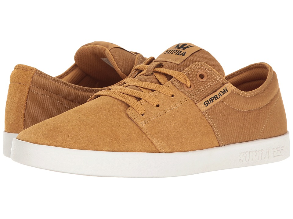 Supra - Stacks II (Amber Gold/White) Men's Skate Shoes