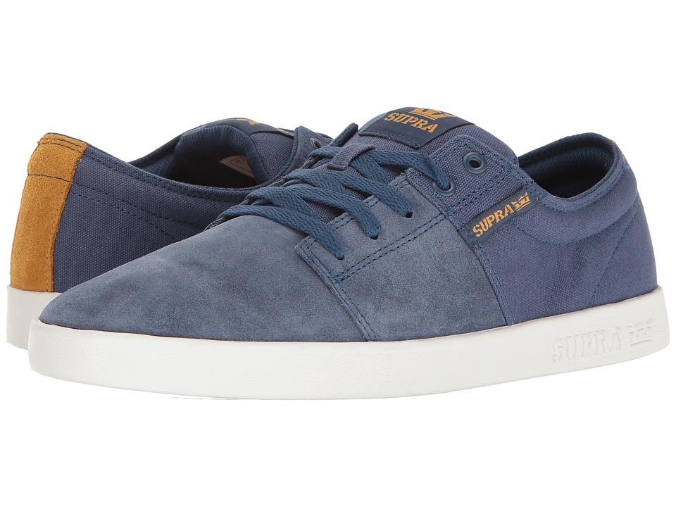Supra - Stacks II (Blue/White) Men's Skate Shoes
