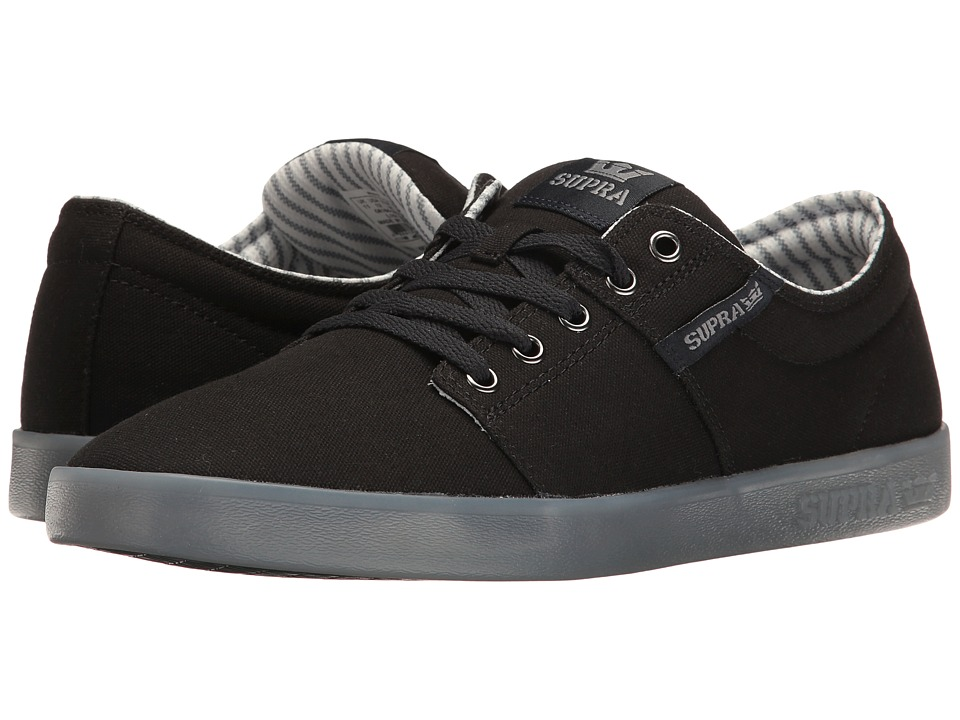Supra - Stacks II (Black/Ice) Men's Skate Shoes