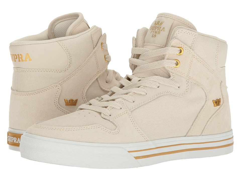 Supra - Vaider (Off-White/White) Skate Shoes