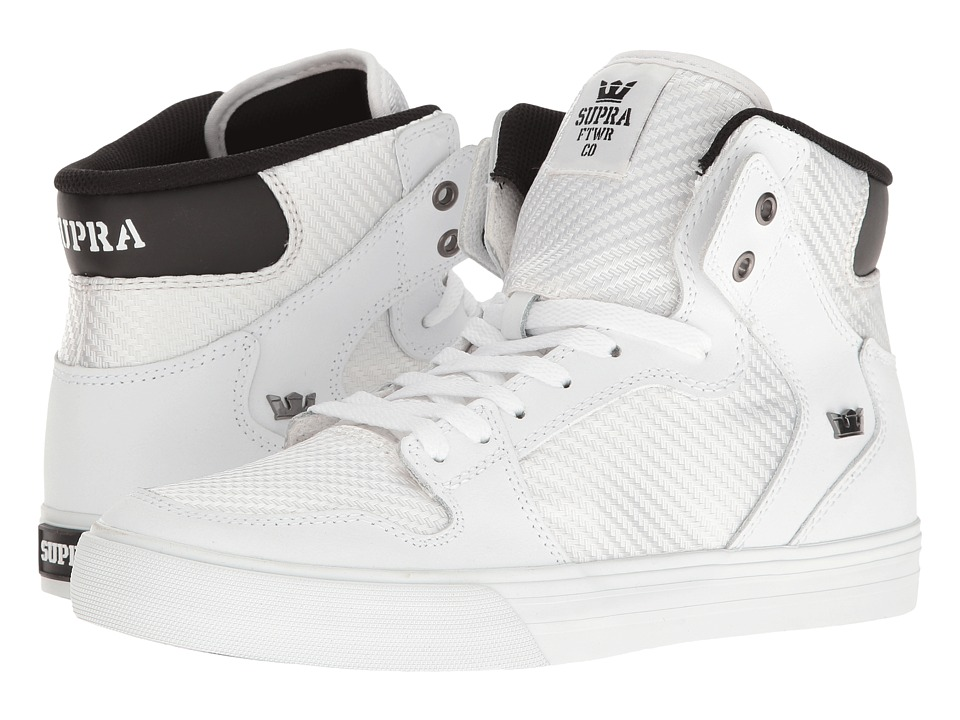 Supra - Vaider (White/White) Skate Shoes
