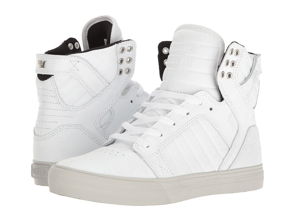 Supra - Skytop (White Oil Slick) Women's Skate Shoes