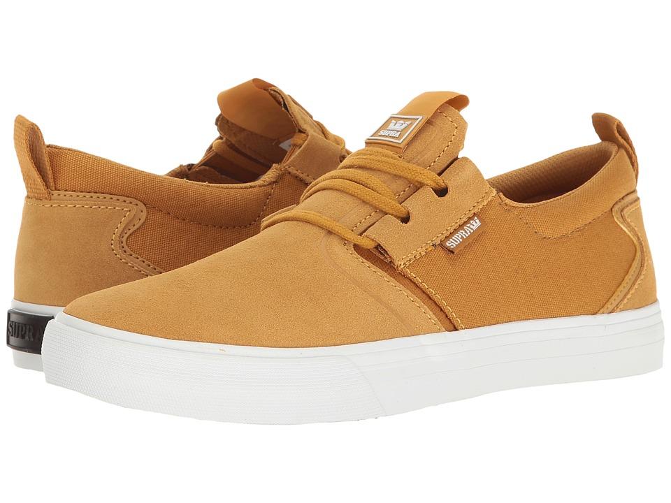 Supra - Flow (Amber Gold/White) Men's Skate Shoes