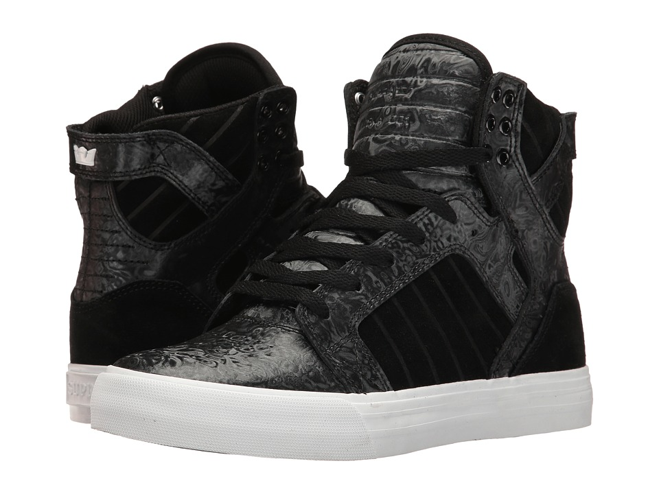 Supra - Skytop (Black Oil Slick) Women's Skate Shoes