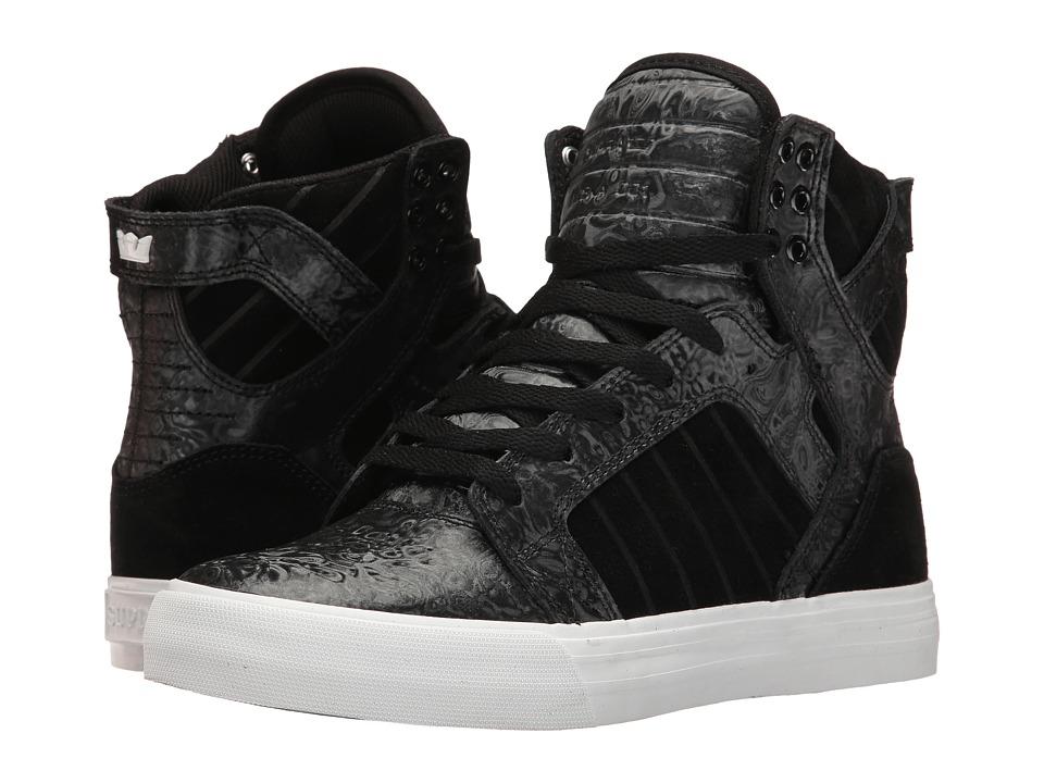 Supra - Skytop (Black Oil Slick) Women's Skate Shoes