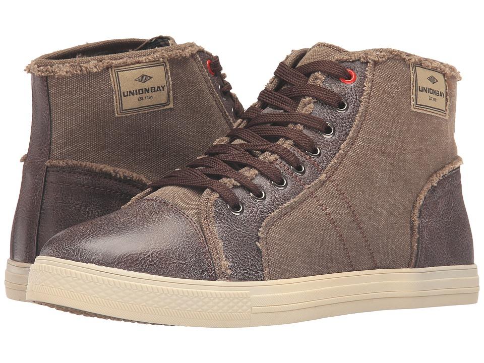UNIONBAY - Denny Sneaker (Brown) Men's Shoes