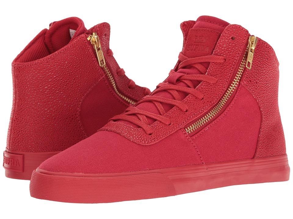Supra - Cuttler (Risk Red) Women's Skate Shoes