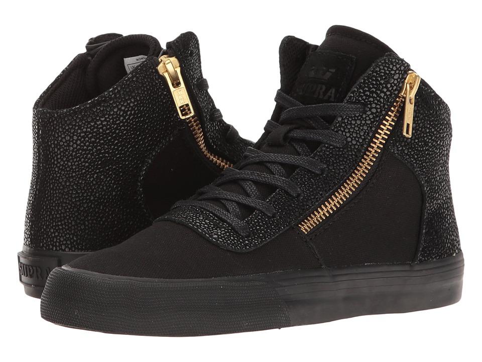 Supra - Cuttler (Black) Women's Skate Shoes