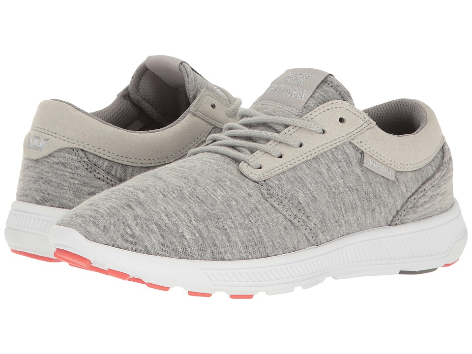 Supra - Hammer Run (Grey/White) Women's Skate Shoes