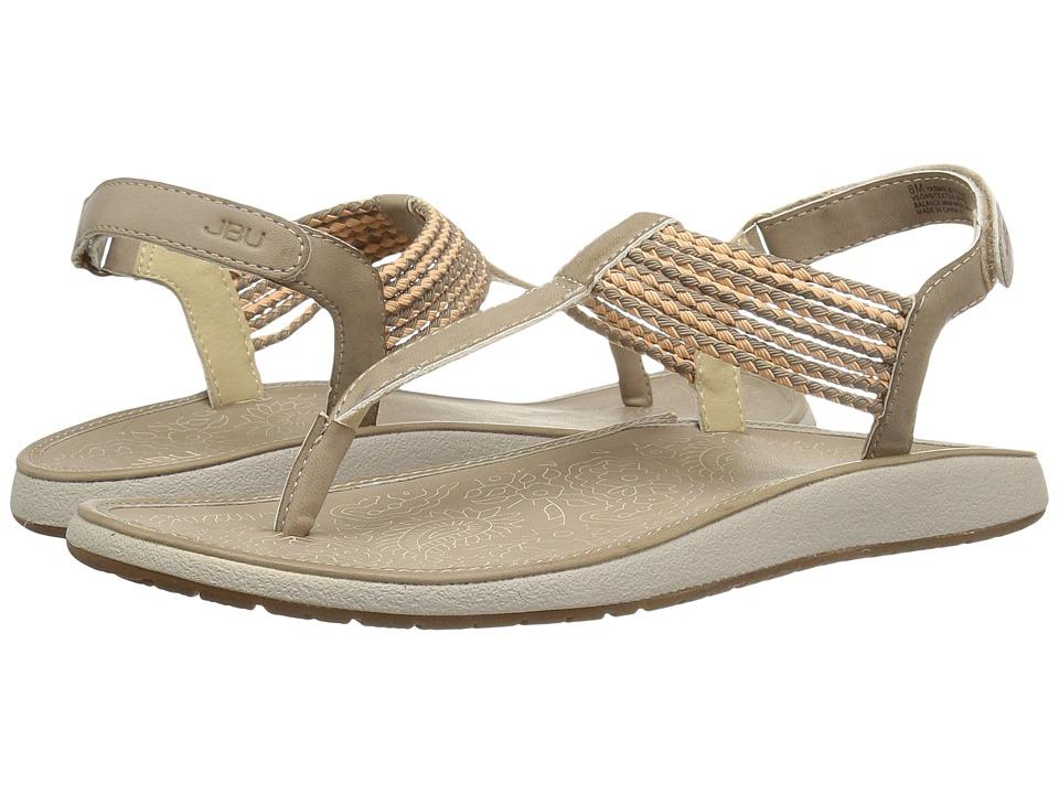 JBU - Yasmin (Ivory/Coral) Women's Sandals
