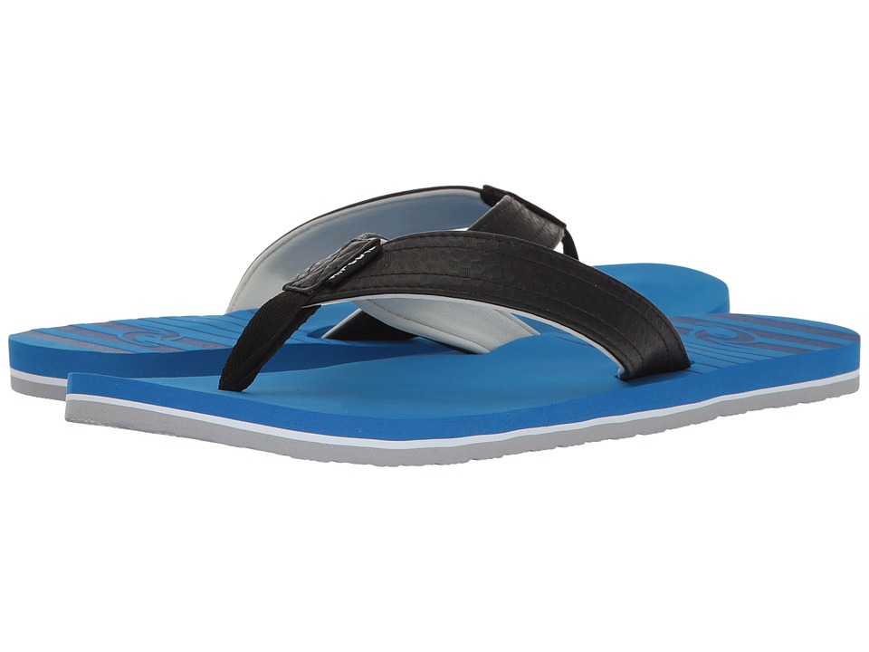 Rip Curl - The Groove (Black/Royal) Men's Sandals