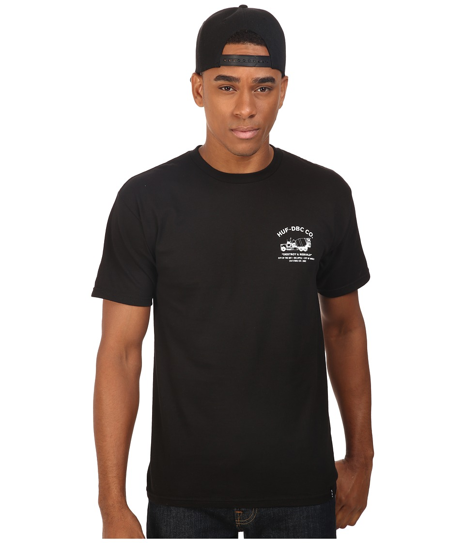 HUF - Concrete Mixer Tee (Black) Men's T Shirt