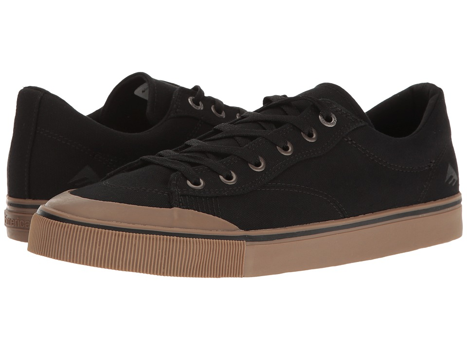 Emerica - Indicator Low (Black/Gum) Men's Skate Shoes