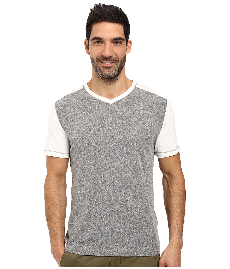 Agave Denim - Amboy Short Sleeve Tri-Blend Slub (Natural) Men's Short Sleeve Pullover