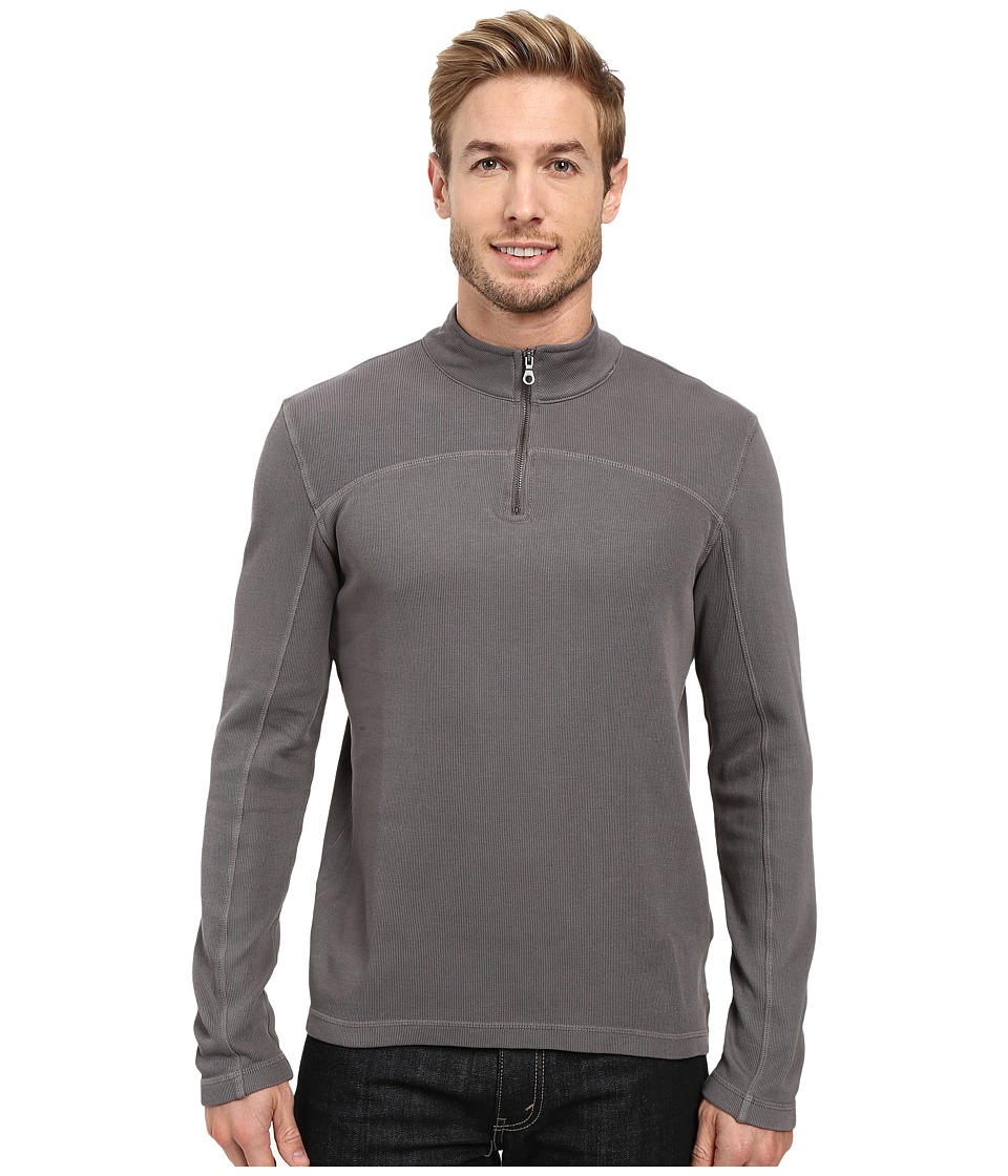 Agave Denim Butte Long Sleeve Flatback Rib (Eiffel Tower) Men's Long Sleeve Pullover
